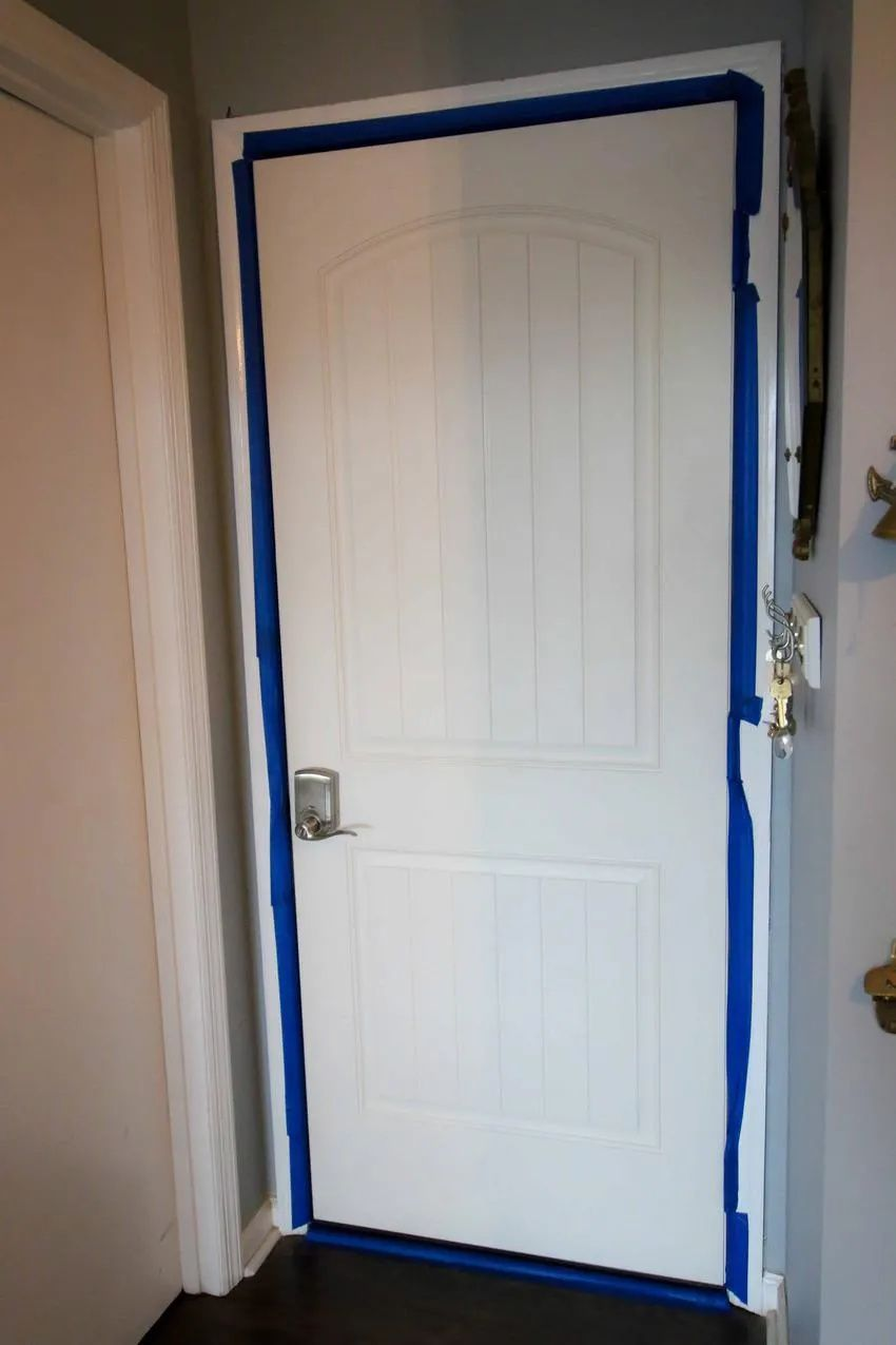 How To Paint A Door Painted Doors Painted Interior Doors Paint Doors White