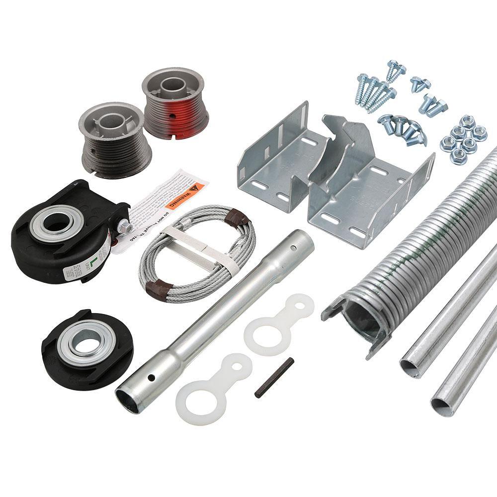 Clopay Ez Set Torsion Conversion Kit For 9 Ft X 7 Ft Garage Doors 134 Lbs 155 Lbs Garage Door Springs Garage Door Torsion Spring Garage Doors