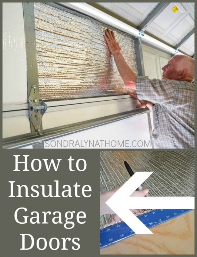 How To Insulate Garage Doors And Why You Should Garage Doors