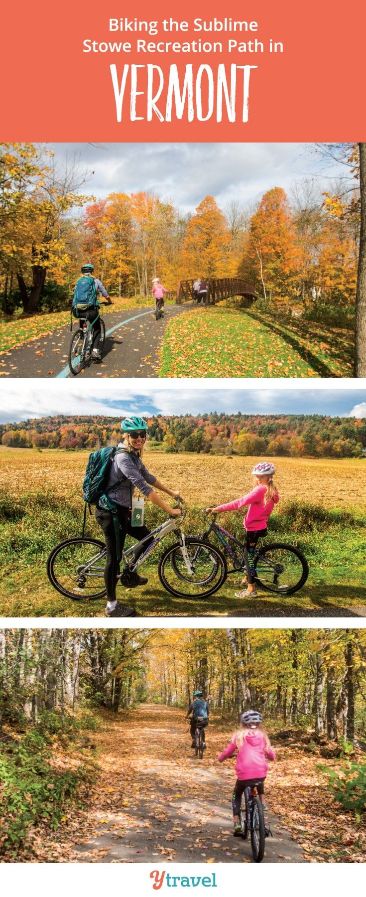 Biking the Sublime Stowe Recreation Path in Vermont