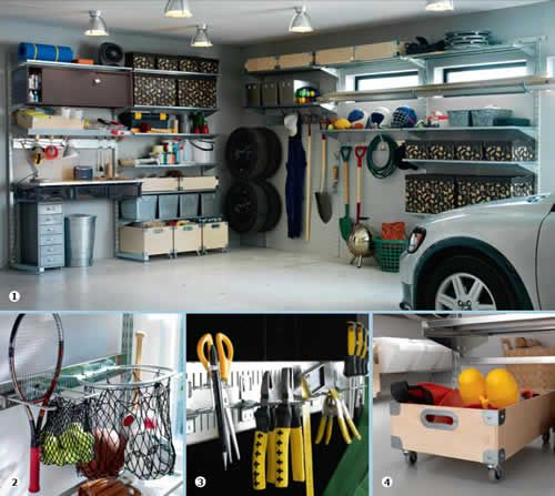 garage organization for the home garage rangement garage amenagement garage. Black Bedroom Furniture Sets. Home Design Ideas