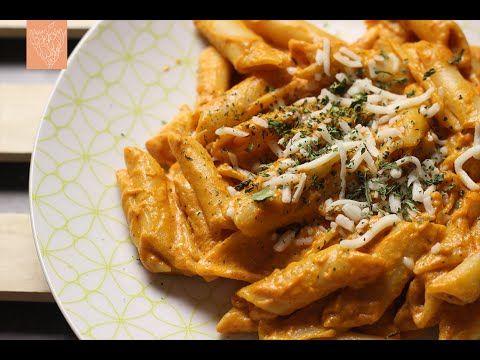 باستا بالصوص الوردي Pink Sauce Pasta Youtube Cooking Comfort Food Food