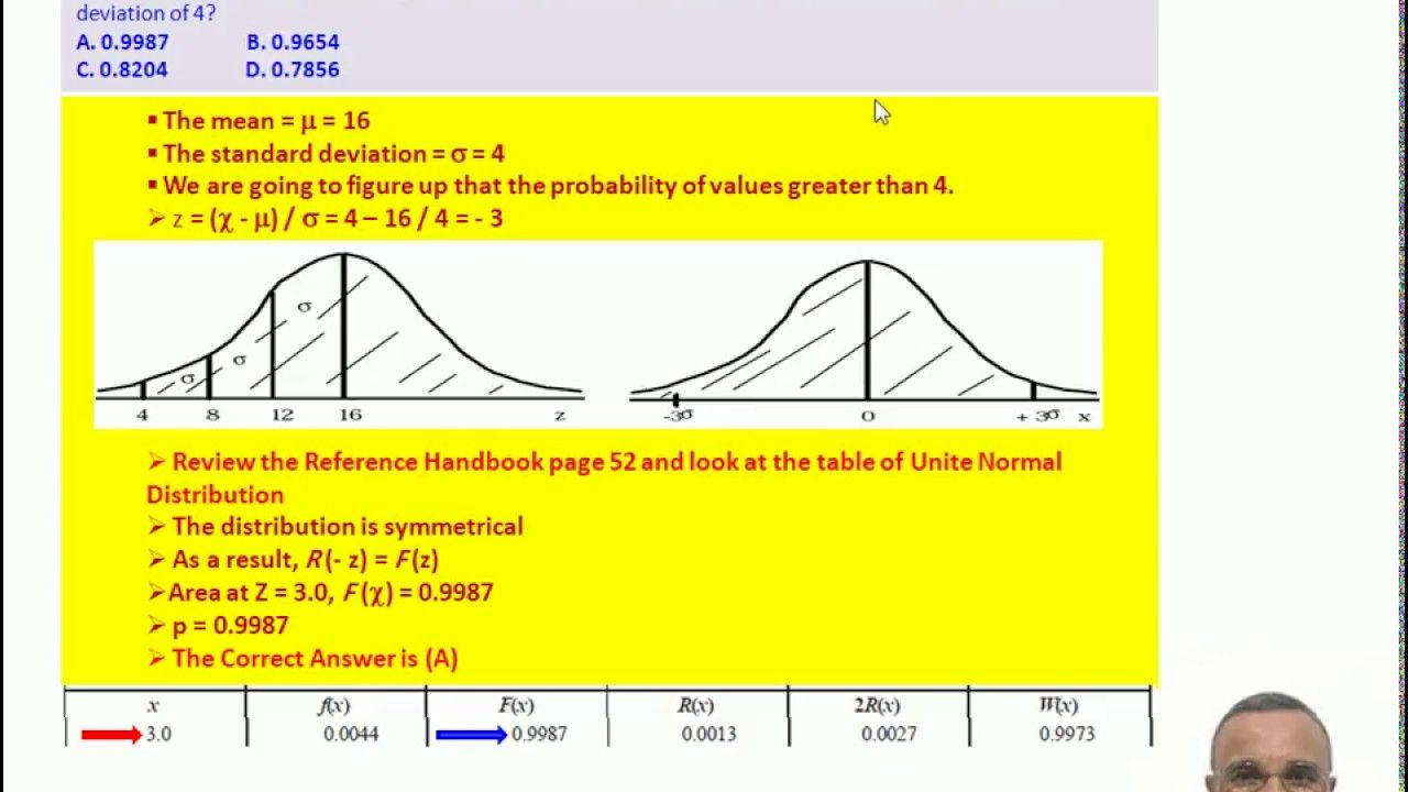 FE Exam - Probability & Statistics - Solved Problems G4 - El Antary
