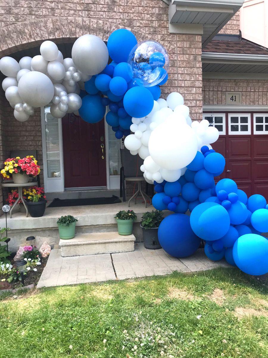 Organic Balloon Arch in 2020 Balloon arch, Balloon