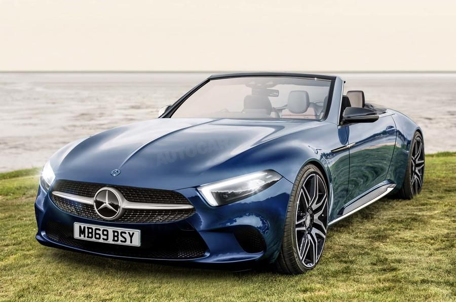 Next Mercedes Sl Has A Very Very Bright Future Mercedes Sl Mercedes Convertible Mercedes Benz