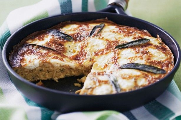 It's easy to cater for the breakfast crowd with this hearty vegetarian omelette.