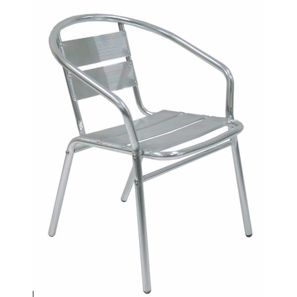 Sedie Impilabili Economiche Prezzi.Sedie Alluminio Modello Capri Da Esterno Economiche E Moderne