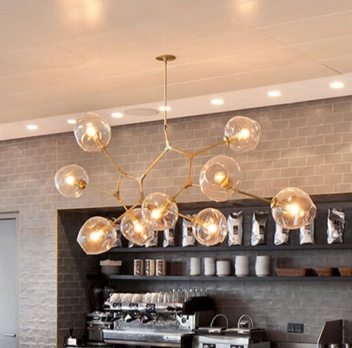 Pendant Lamps Branching Bubble Lights Molecular Irregular ...
