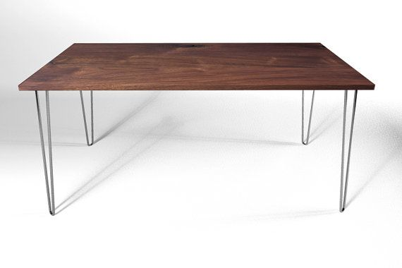 17 Best images about hairpin leg table obsession on Pinterest | Kitchen  tables, Industrial and Wood steel