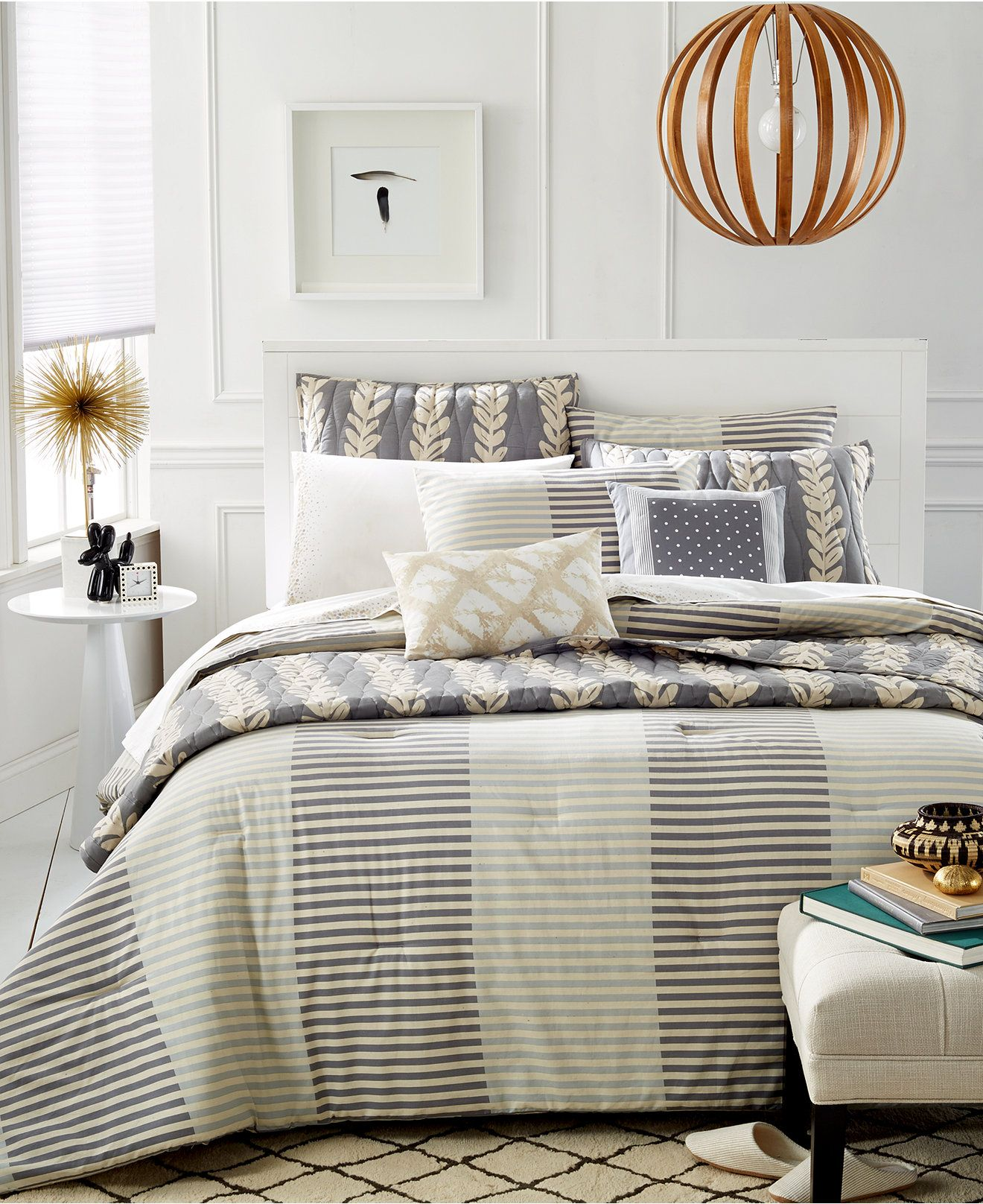 We love the earth tones in this set from the Martha Stewart Whim