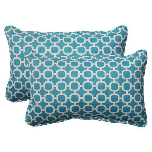 Pillow Perfect Indoor/Outdoor Hockley Corded Rectangular Throw Pillow, Teal, Set of 2, http://www.amazon.com/dp/B00BU6VHRS/ref=cm_sw_r_pi_awdm_2HZNwb0TZZYF9