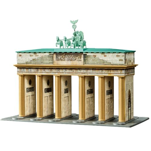 Brandenburg Gate 3d Puzzle Monumentos Edificios Ciudades