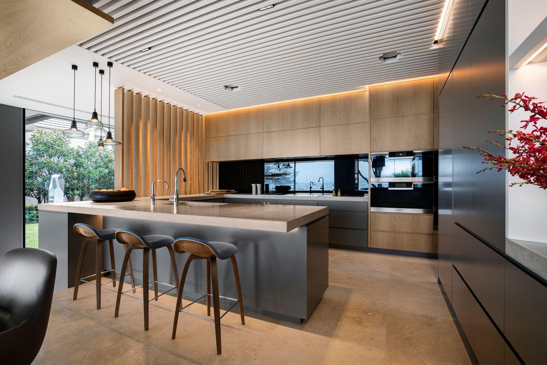 Double Bay   SAOTA   Kitchen design open, House interior design kitchen, Small house design