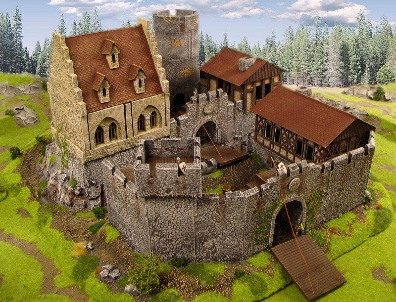 medieval diorama wallpaper google search minecraft mittelalter ideen pinterest. Black Bedroom Furniture Sets. Home Design Ideas