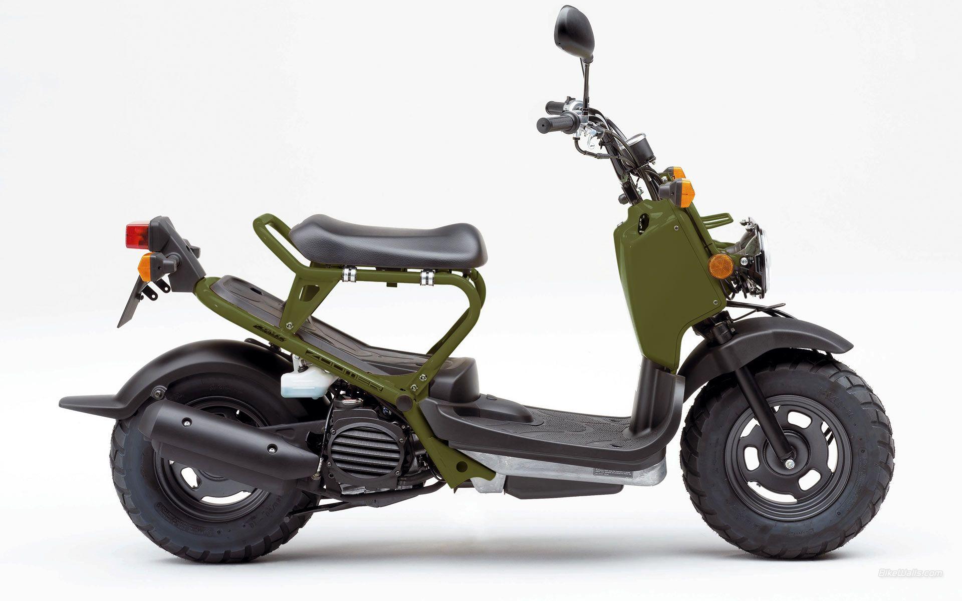 Honda Zoomer Dengan Gambar Sepeda Desain Logo Desain