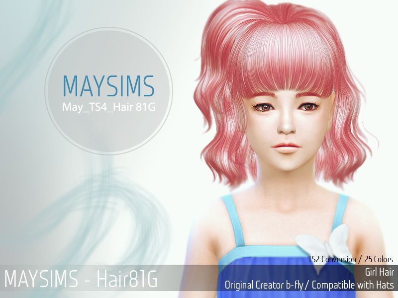 Peachy Sims 4 Ccs The Best Hair For Kids By Sheplayswithlifeee Sims Hairstyles For Women Draintrainus