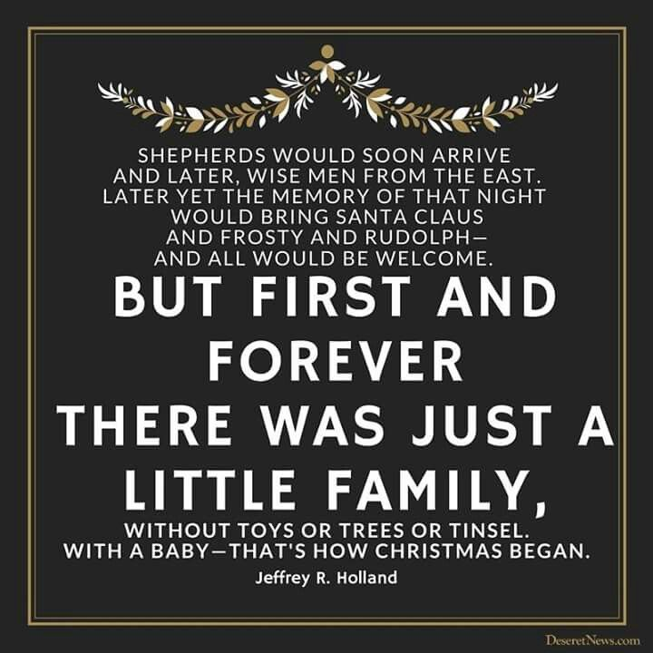 Time For Remembering The Son Of Godu0026 26 Christmas Quotes From LDS Leaders