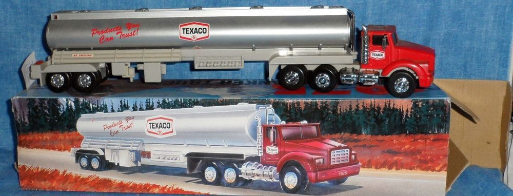 TEXACO 1975 TANKER TRUCK head lights tail lights,logos, Horn,backup 1995 Edition #Unknown #Unknown