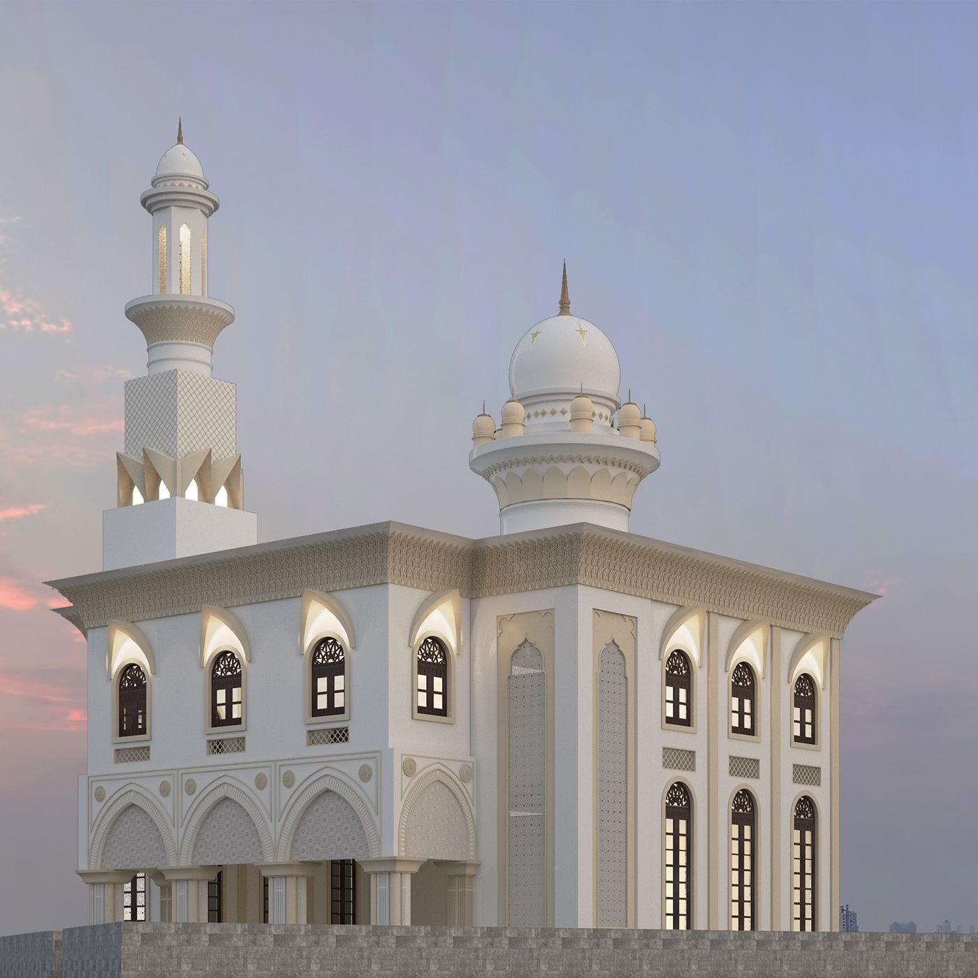 Mosque design view masjid in 2019 mosque architecture