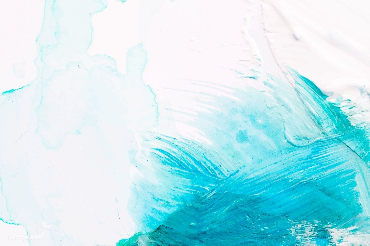 White And Blue Paintbrush Stroke Textured Background Vector Free