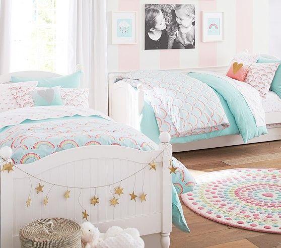 Heart Dot Round Rug   ~ Addisyn Grace ~   Kids bedroom ...