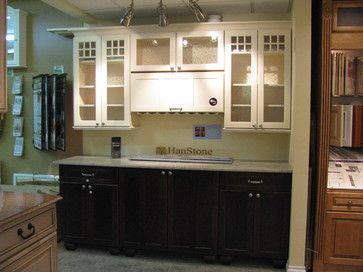 Kitchen Photos With Upper And Lower Cabinets In Different