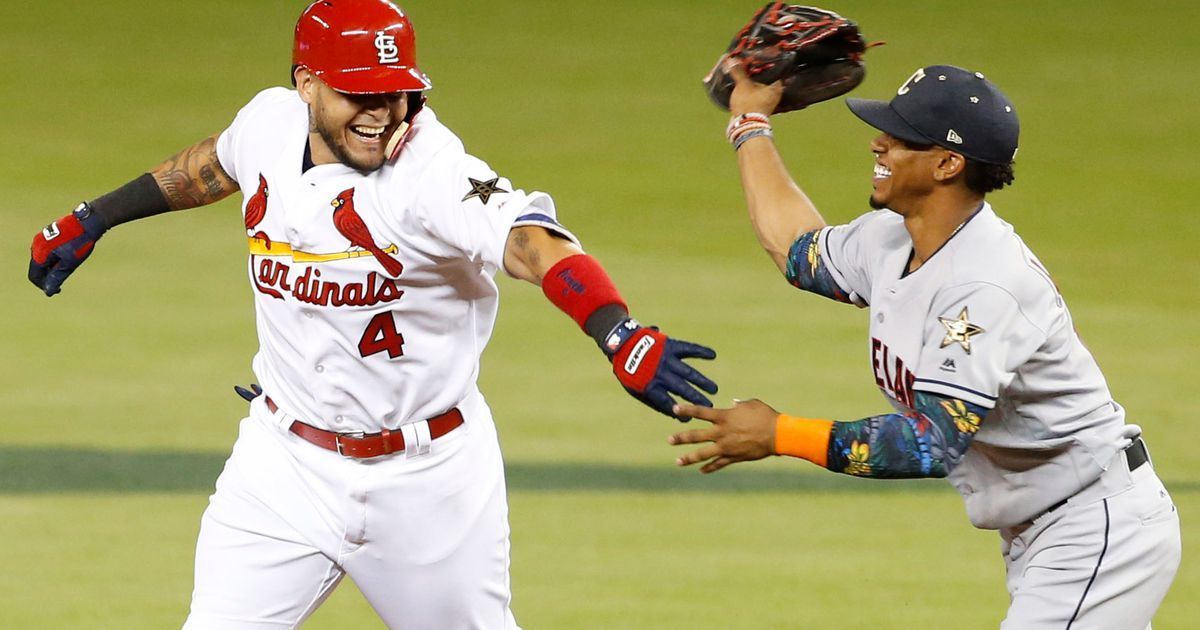 Yadi homers, but NL falls to AL 2-1 in All-Star Game #Sport #iNewsPhoto