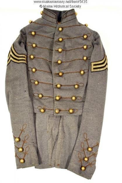 Howard West Point Dress Coat Ca 1853 West Point American Civil War Civil War Photos