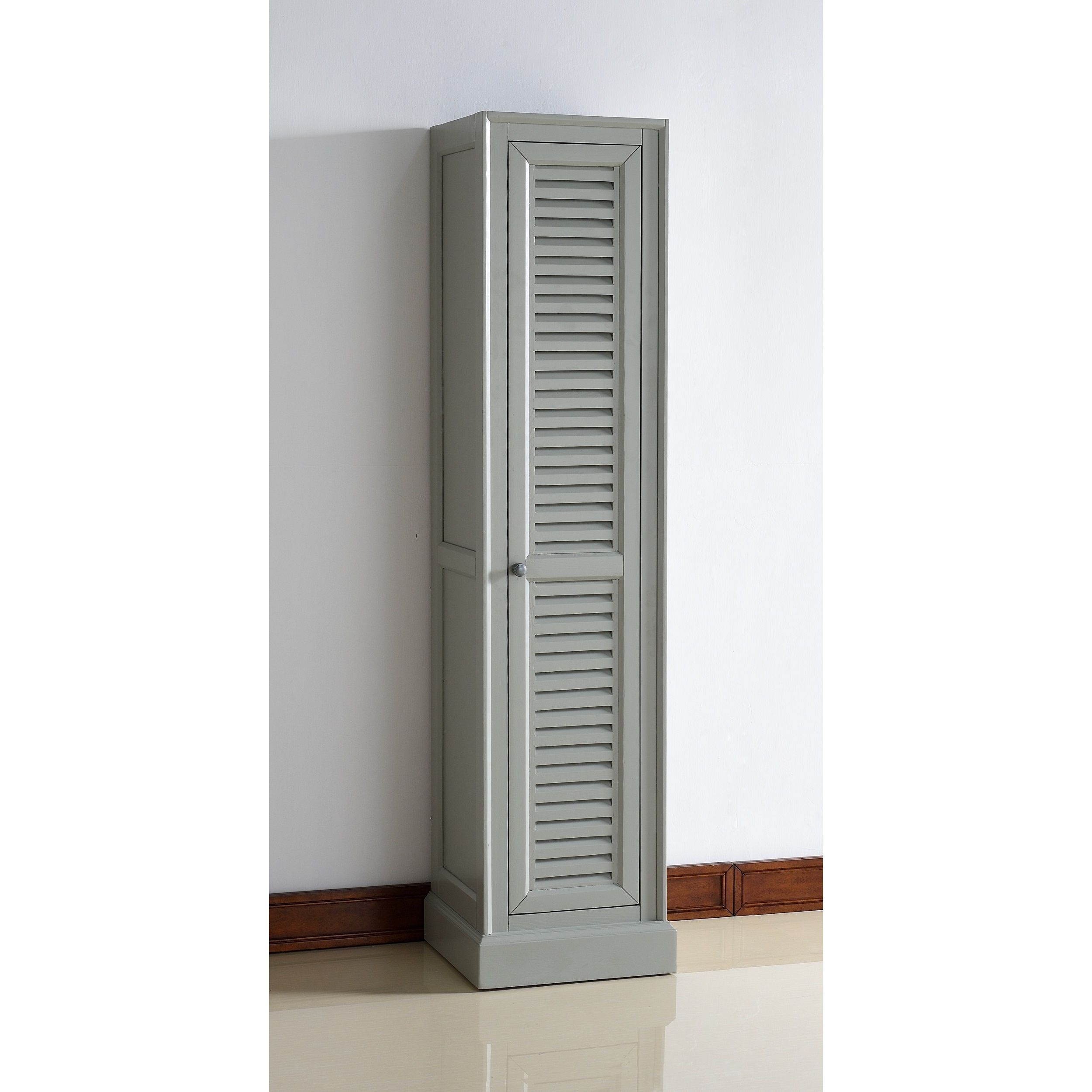 Keep your linens where you need them by adding this handsome cabinet ...