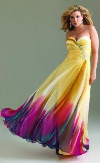 Plus size prom dresses 2014   Dresses   Pinterest   Prom dress 2014 ...