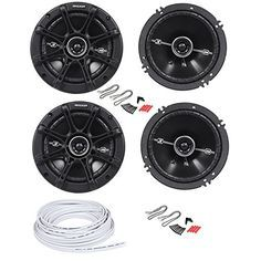 Kicker Jeep Wrangler JK 6 5 Inch Replacement Speakers and