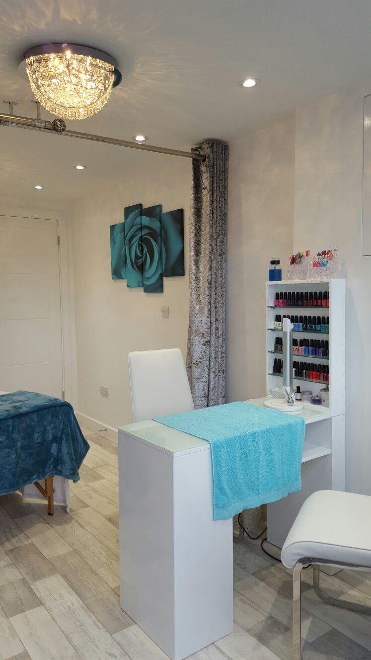 Beauty Salon Garage Conversion Home Beauty Salon Beauty Salon Decor Salon Interior Design