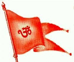 Pin On Dhwaj Dharm Pataka Saffron Flag