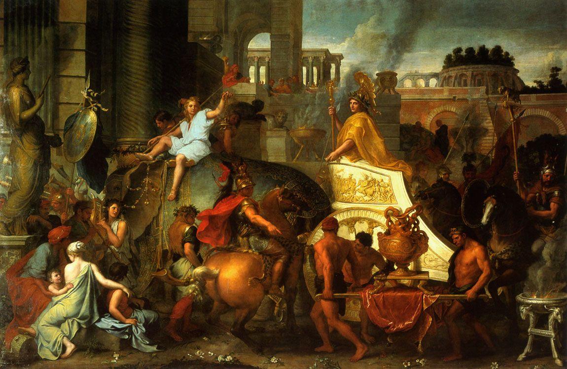 Histoire de l'art - Les mouvements dans la peinture - Le classicisme | Charles le brun ...