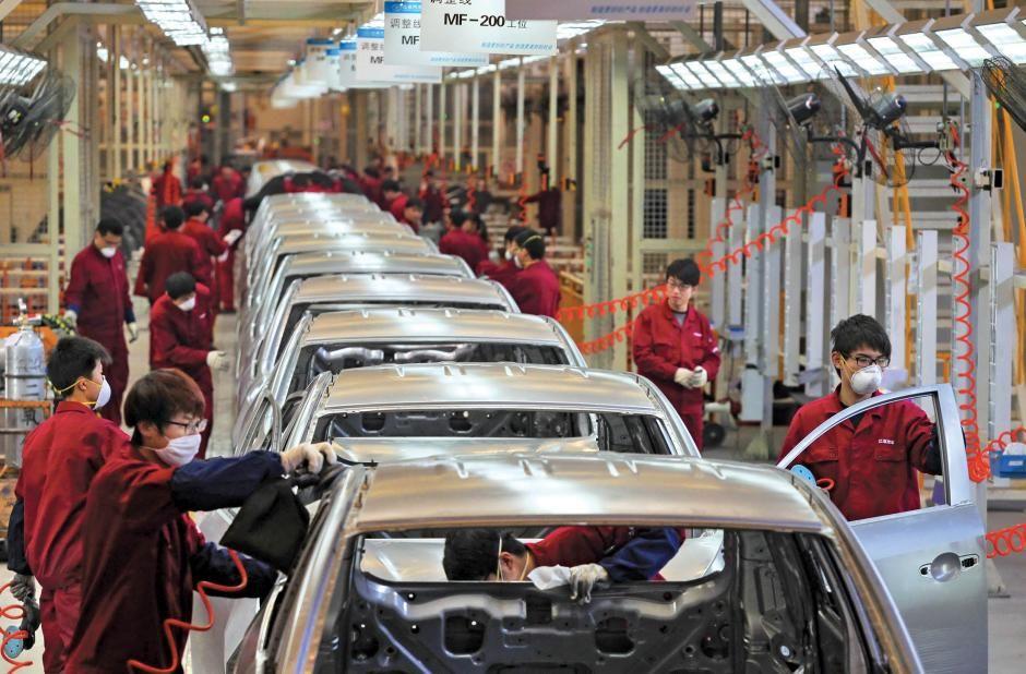 """Résultat de recherche d'images pour """"chinese automakers, new plants, industrial robots, china"""""""
