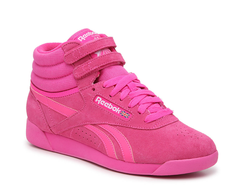 Reebok Freestyle Hi High-Top Sneaker