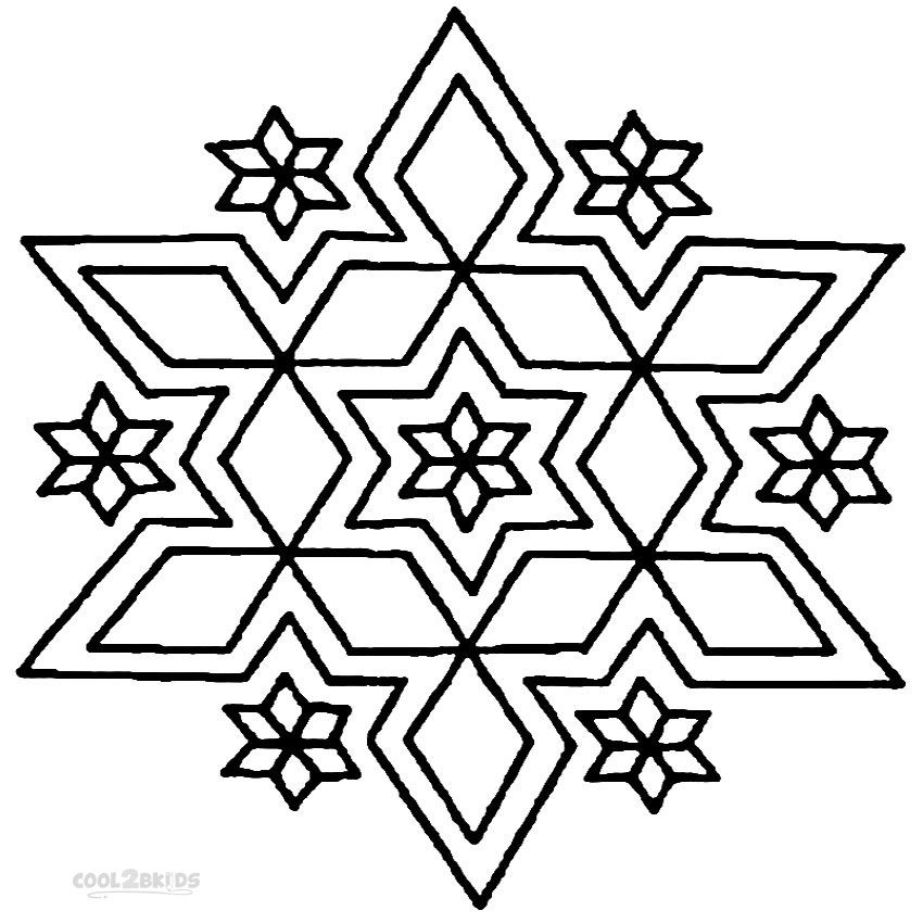 Rangoli coloring pages to download and print for free ...