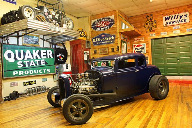 Hot Rod Builder Drew Strunk's 1932 Ford 5-Window Coupe