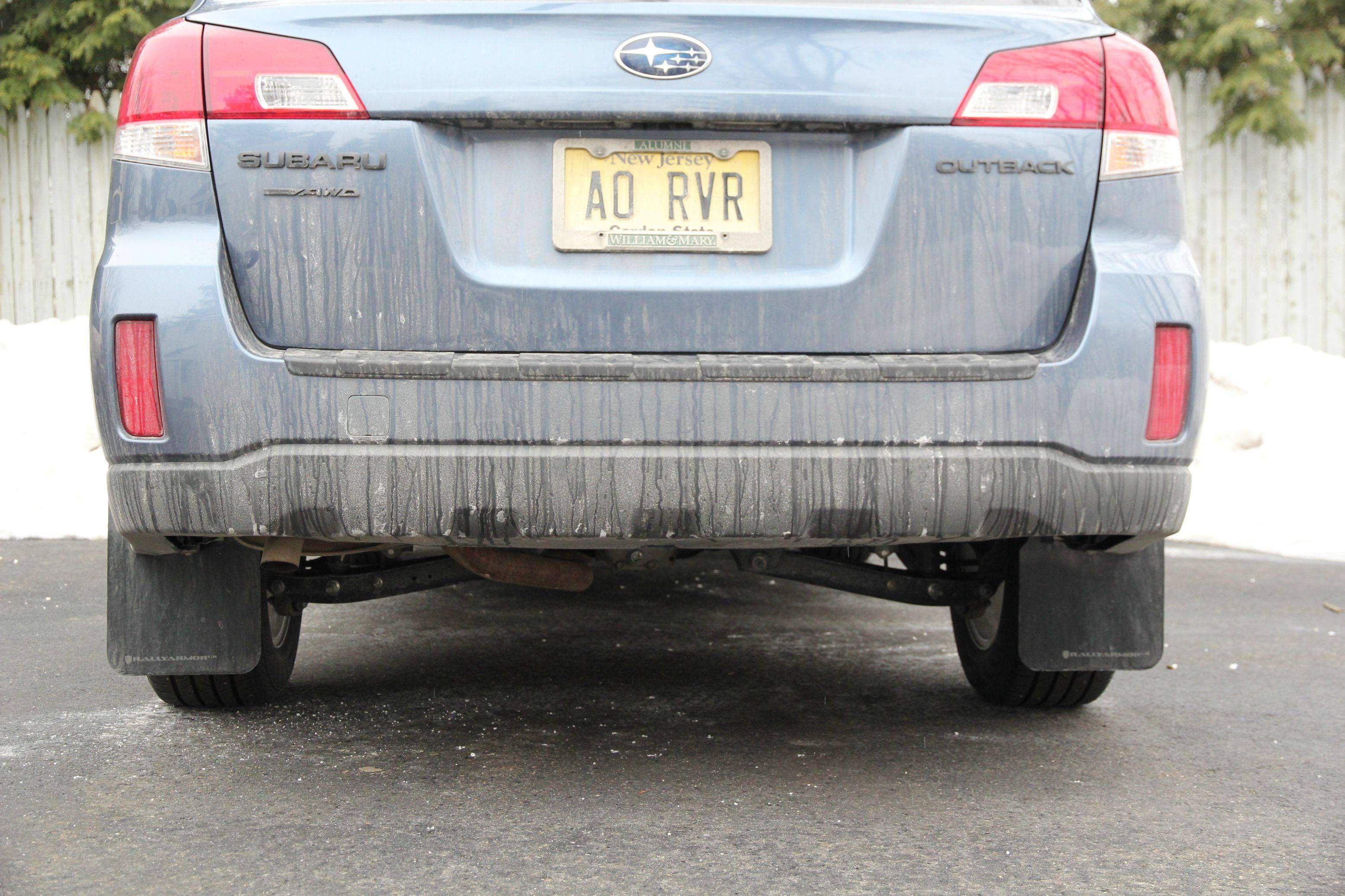 DIY: Gen 4 Rally Armor Mud Flaps Installation - Subaru