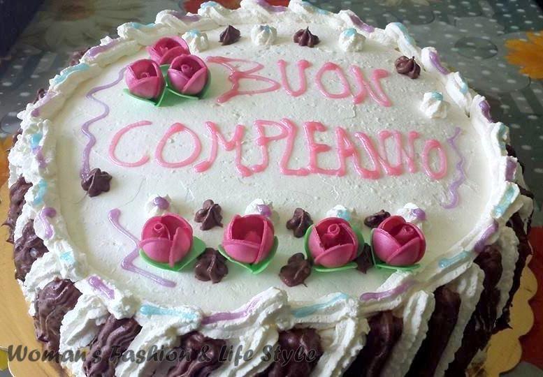 Torta Buon Compleanno