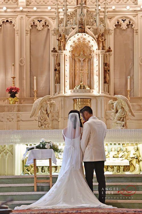 Holy Family Catholic Church Chicago Wedding Photos 7 Catholic Wedding Ceremony Chicago Wedding Venues Wedding Venues Church