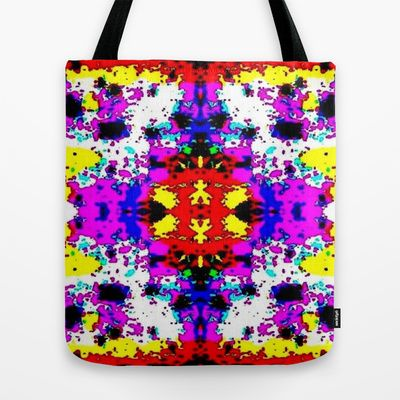 Pattern Tote Bag by Phinilez