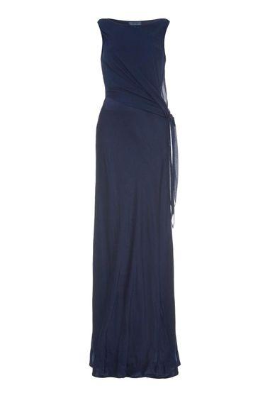 Audrey Dress Indigo Navy