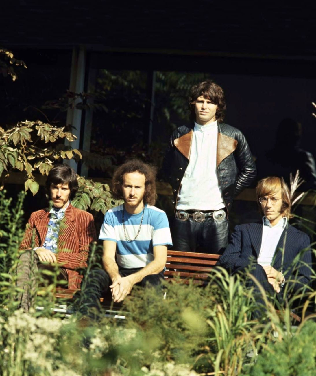 psychedelicway \u201c The Doors (in Germany September 1968). Left to right  sc 1 st  Pinterest & psychedelicway: \u201c The Doors (in Germany September 1968). Left to ...