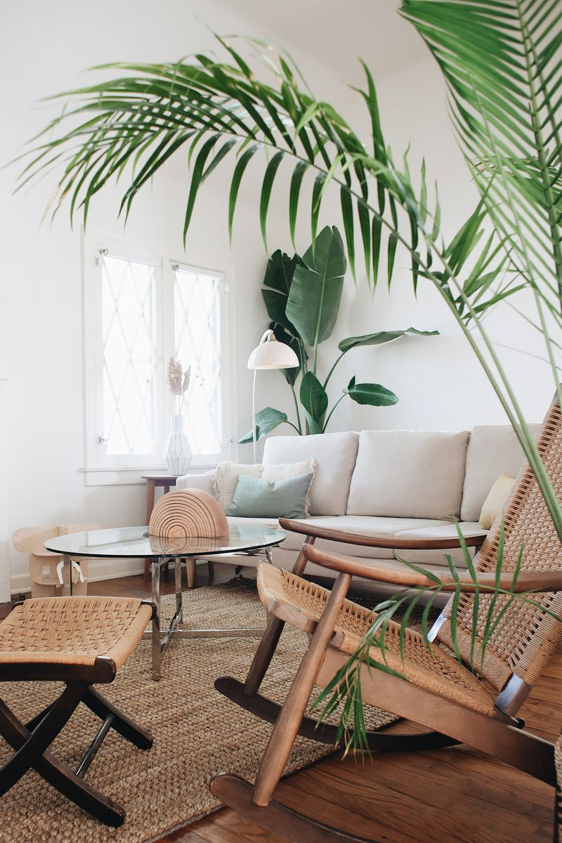 We Asked Five Creatives To Describe Their Interior Style Tropical Living Room Tropical Living Room Ideas Tropical Home Decor