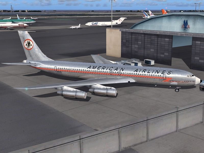 US passenger jet flights start with a National Airlines Boeing 707 (1958)
