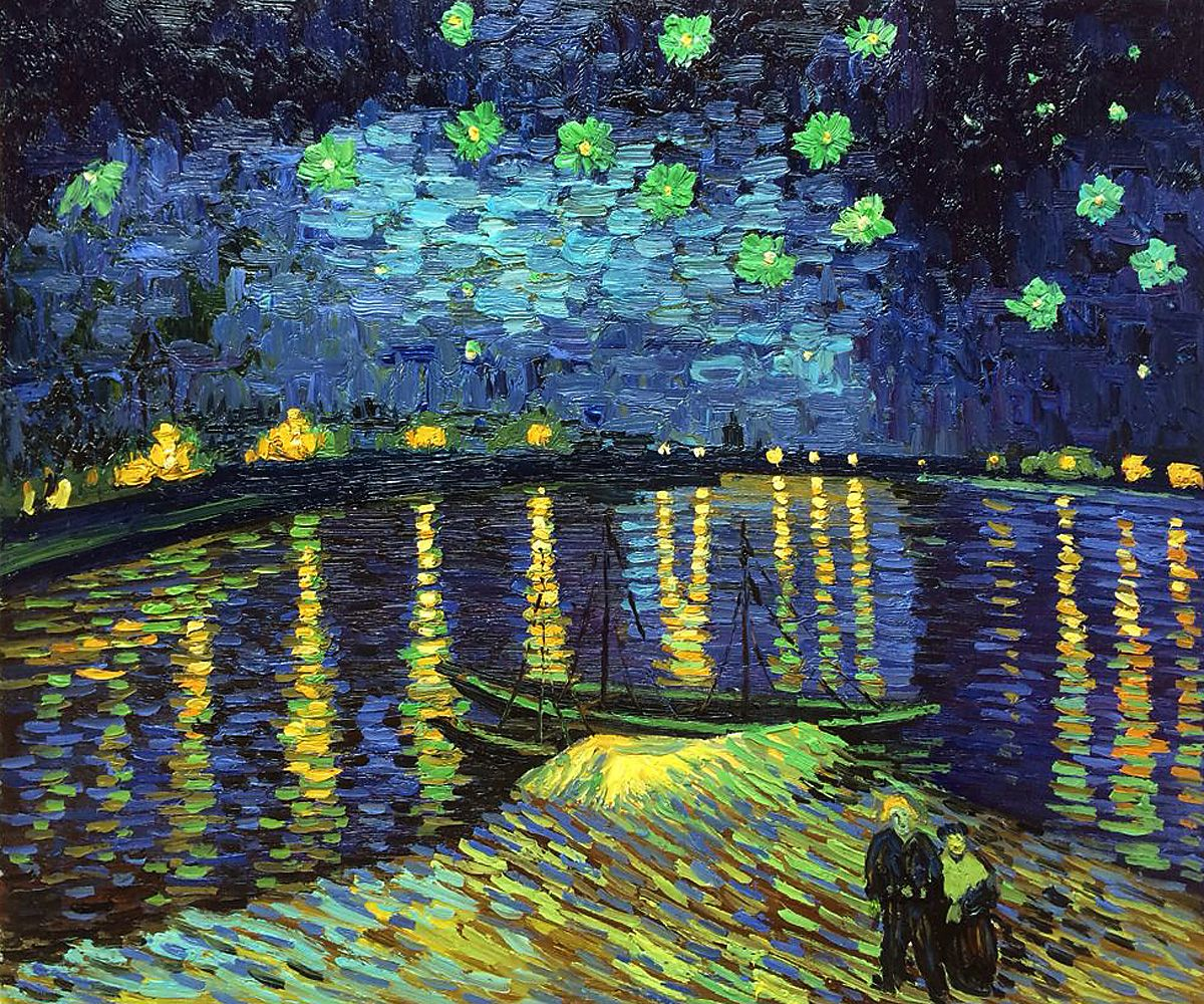 critical analysis starry night over the