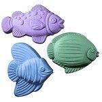 3 Fish Soap Mold