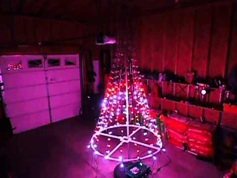 Christmas Tree Using Ws2811 Lights Running On An Arduino Youtube Arduino Christmas Tree Lights