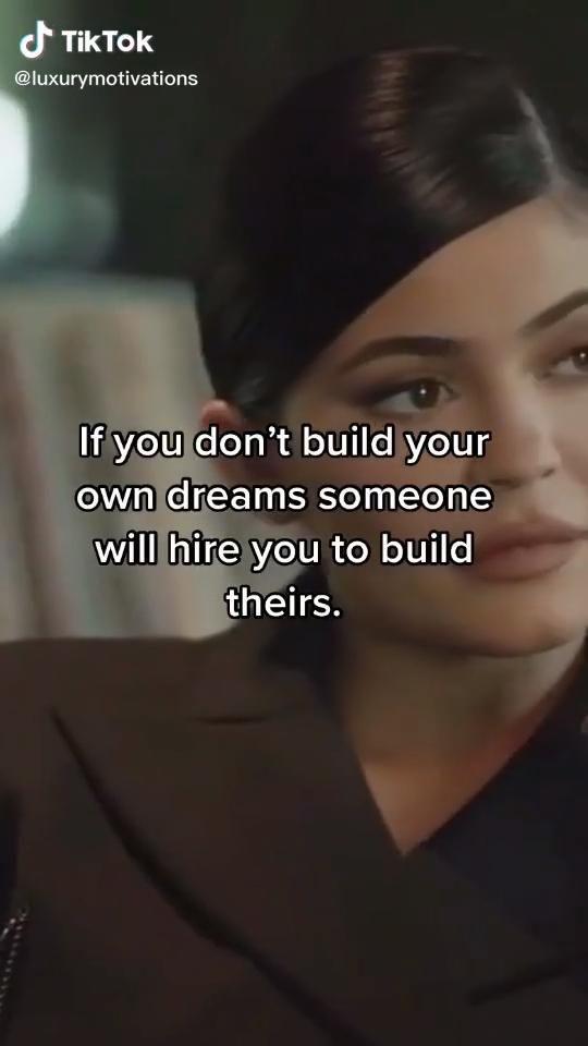 💘(@luxurymotivations) on TikTok: #kyliejenner #rich #motivation
